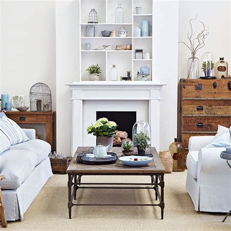 wohnzimmer creme and sky blue living room ideal home