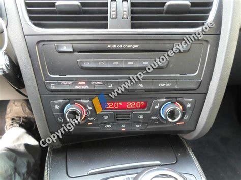 Audi A4 Bj 2008 by Audi A4 8k B8 Bj 2008 Klimabedienteil Klimaautomatik