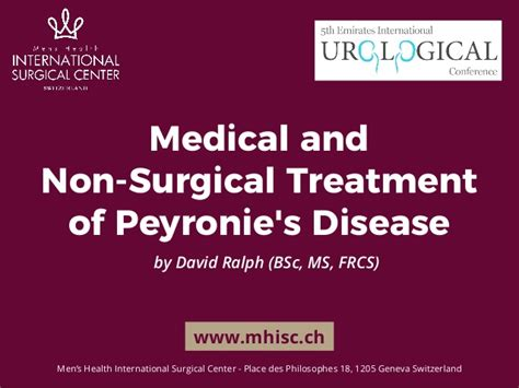 and non surgical treatment of peyronie s disease