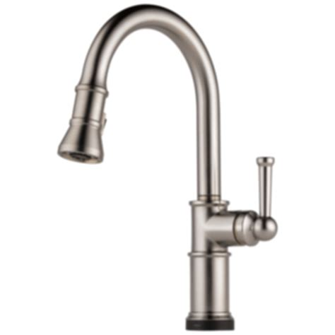 kitchen faucets touch technology artesso 174 single handle pull kitchen faucet with smart touch technology 64025lf modlar