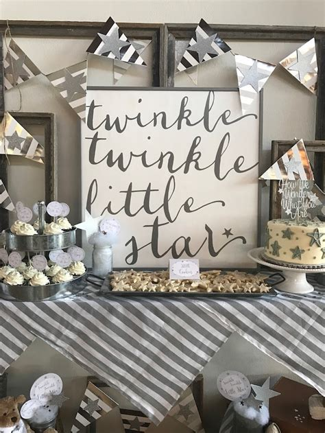 Boy Baby Shower Theme by Kara S Ideas Rustic Twinkle Gender Reveal Baby