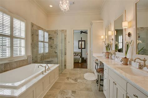 traditional master suite traditional bathroom  orleans  highland homes