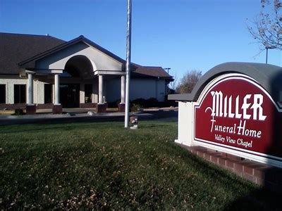 miller funeral home valley view chapel funeral homes on