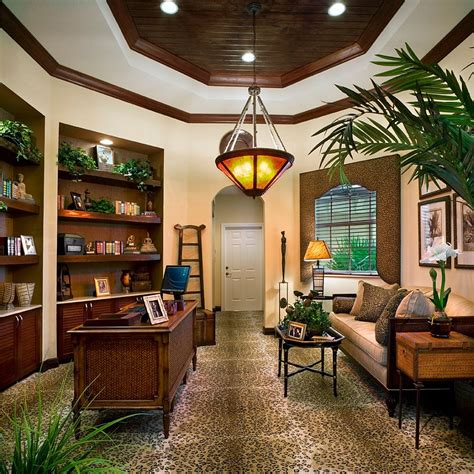 unique office furniture natural home design 10 ways to go tropical for a relaxing and trendy home office