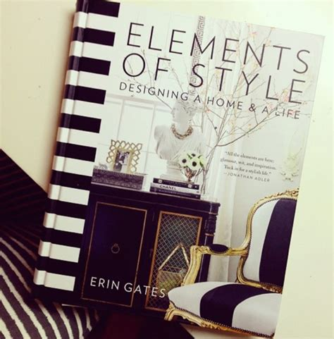 elements of style designing 1476744874 erin gates new book elements of style
