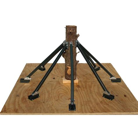 standtastic 8 brace heavy duty christmas tree stand 8b