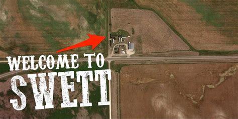 swett south dakota town  sale   business