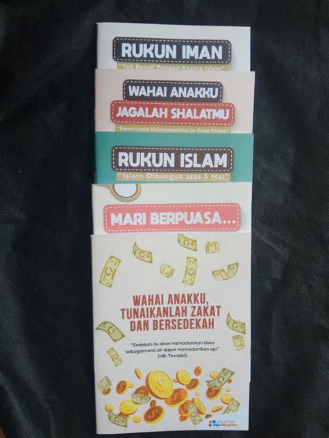 Paket Buku Anak paket buku tulis islami anak pack 10 buku 5 cover tema