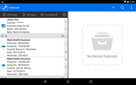 msecure password manager apk msecure password manager 4 0 4 004 apk android productivity apps