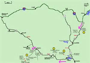 independence pass colorado map independence pass area colorado map and info