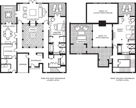 presidential suite floor plan 17 best images about riad plans details on pinterest