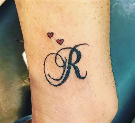 letter r tattoo 50 letter r designs ideas and templates