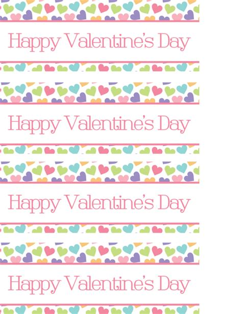 valentine bag toppers printable valentines day bag toppers printable valentine s day treat bag toppers a cup full