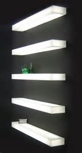 lighted floating shelves shelves wall mounted on pinterest creative bookshelves wall mounted shelf and wall shelves