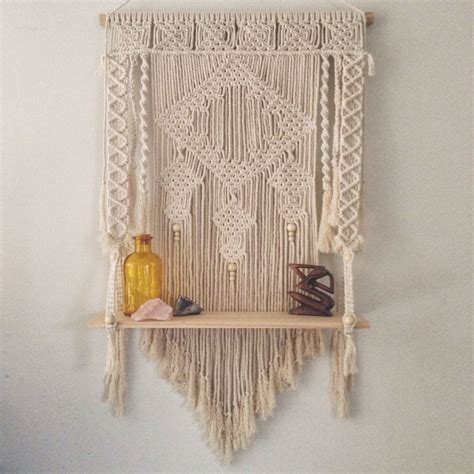 macrame shelf macrame shelf search macram 233 wall