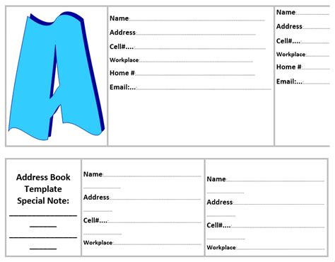 Ms Word Book Template 20 free address book templates word templates