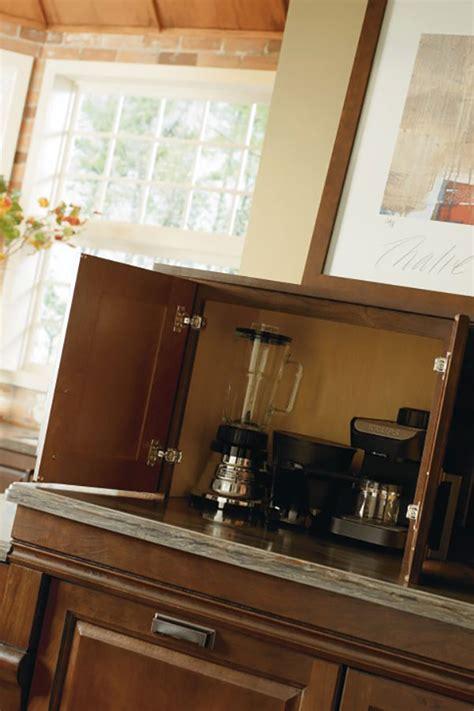 appliance garage diamond cabinetry