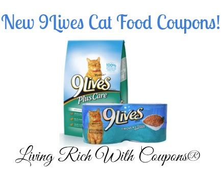 printable 9 lives cat food coupons 3 in new 9lives cat food coupons deals at target