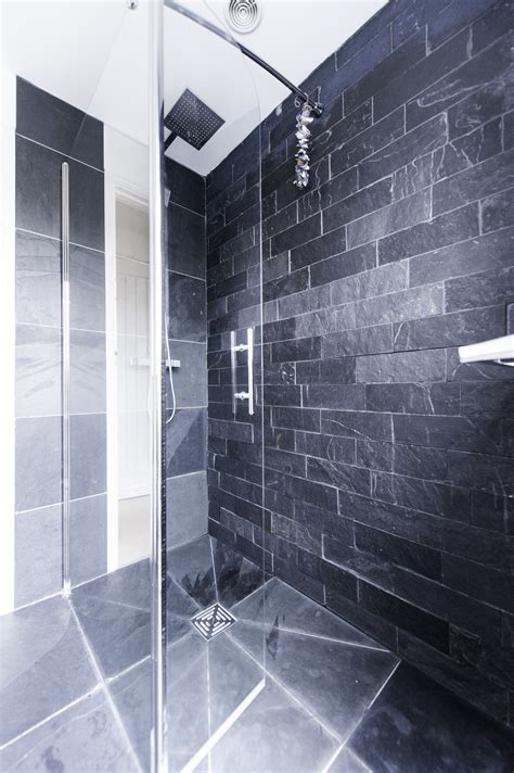 Slate Tiles, Trays and Cladding for Bathrooms, Showers