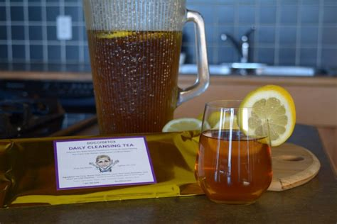 Daily Mail Detox Tea by Gentle Daily Cleansing Tea Bedankt