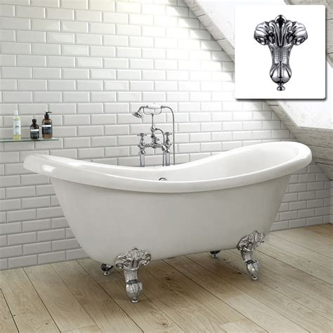 roll top bathtub slipper traditional freestanding roll top bath tub br242