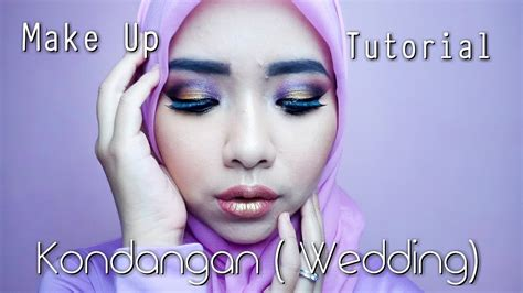 tutorial makeup pesta siang hari make up untuk kondangan wedding malam hari pesta