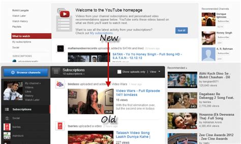 old youtube layout firefox youtube get back old interface 2012 13 video tutorial