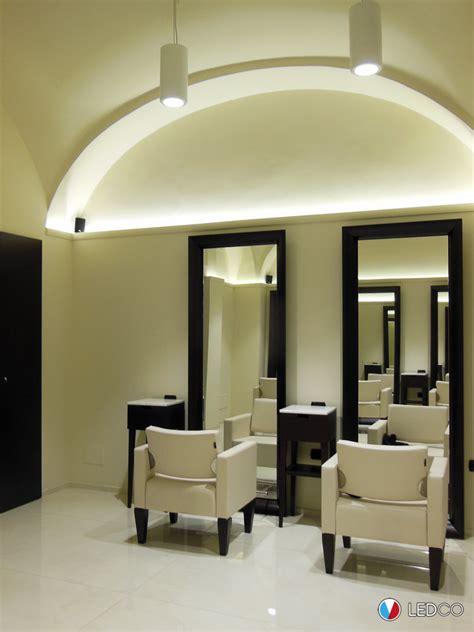 illuminazione salone illuminazione salone parrucchiere bari ledco italia