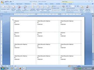format label undangan no 103 utomos how to bikin label undangan dengan ms word