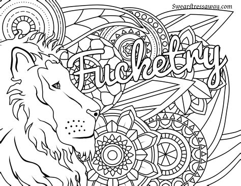 coloring pages printable free printable swear word coloring pages free free coloring books