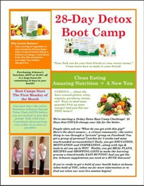 Arbonne 28 Day Detox Meal Plan by Clean Detox Challenge With Arbonne Nutrition