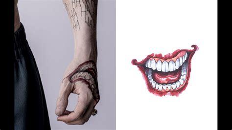 detailed   jared letos joker tattoos