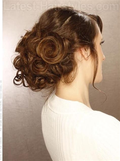 upsweep hairstyles how tos bangin updo cute upswept look view 2 wiuguig pinterest
