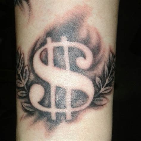 money sign tattoo designs dollar sign tattoos that i