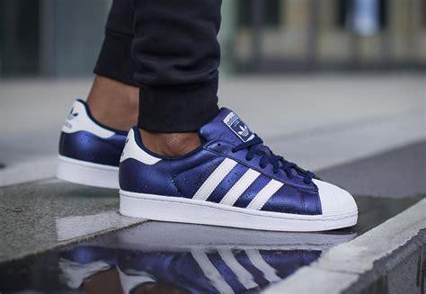 adidas superstar schuhe blau weiss im weare shop