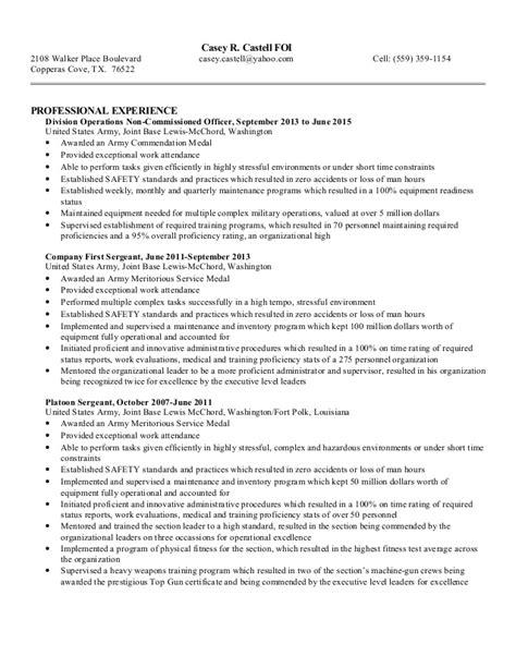 Resume Bullet Format Bullet Resume Template