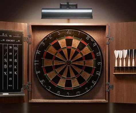 clip on dartboard light cool board cool dart board cabinet diy dart board