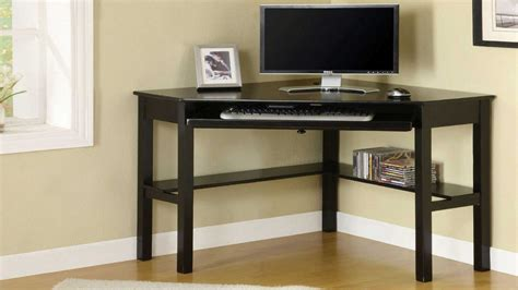 computer desk for office black corner computer desk for