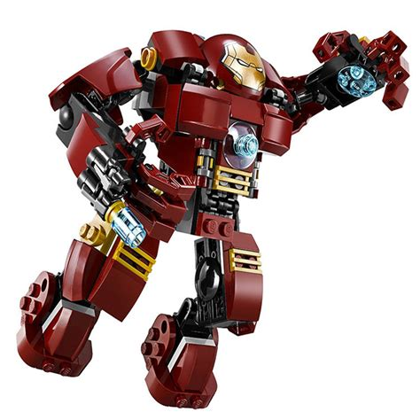 Decool Heroes Iron decool 7110 marvel ultron iron smash building blocks set toys compatible with 76031