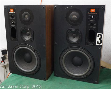 Monitor Jbl 2 jbl studio monitor 4410 speakers ebay