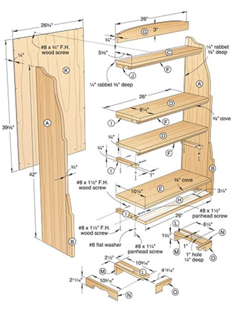 woodwork bookcase woodworking plans pdf plans