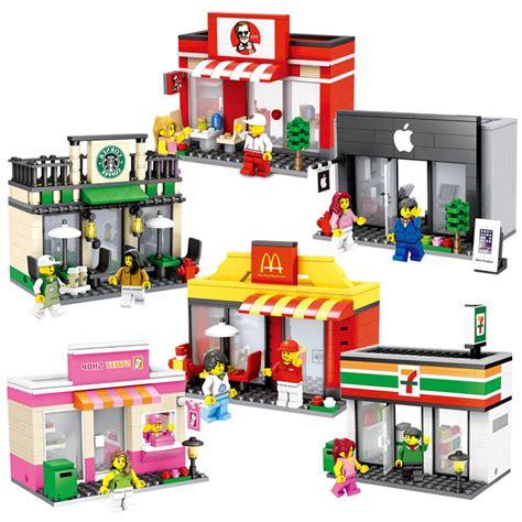 Brick Hsanhe 6405 Mini Apple Store buy wholesale mcdonalds toys from china mcdonalds toys wholesalers aliexpress