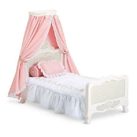 american girl doll samantha s bed canopy bedding new for
