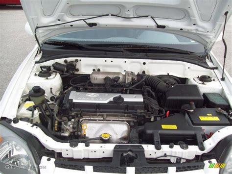 2004 hyundai accent gt coupe 1 6 liter dohc 16 valve 4