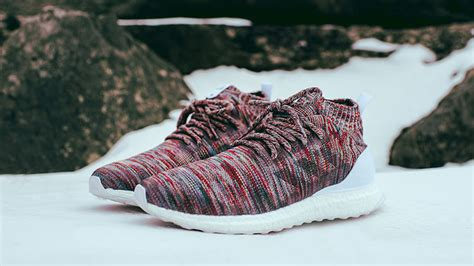 Kith X Adidas Ultra Boost Mid Aspen Snow Adidas X Ronnie Fieg Ultra Boost Mid Kith Aspen Pack The