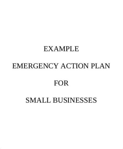 emergency plan template for businesses 11 emergency evacuation plan templates sle exle