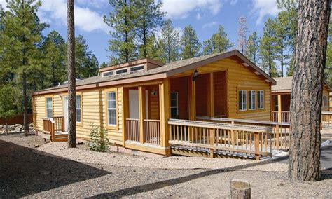 Pvc Cabins by Pvc At The Roundhouse Resort Drm In Pinetop Az