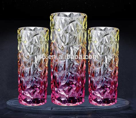 Bulk Glass Vases Cheap by Wholesale Cylinder Colored Glass Vase Buy Glass