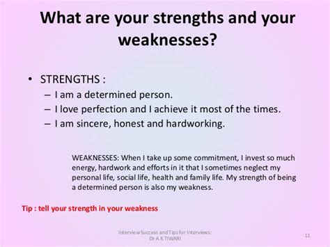 free answers to tough questions how to talk about strengths and