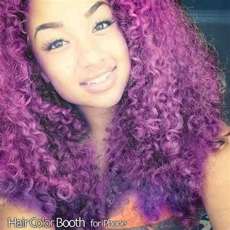 dyed curly hairstyles purple naturally curly hair tips dip dyed cabello